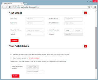 Incalis DPS™: Campaign Front-End